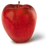 Red Delicious Apple Bushel Case 80 Count (risk of bruising)